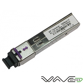 SFP WDM, 1Gb, SC SM, 80km, TX:1550nm