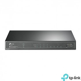 TP-Link TL-SG2008P, Switch inteligentny, 8x 10/100/1000 RJ-45, PoE+, desktop
