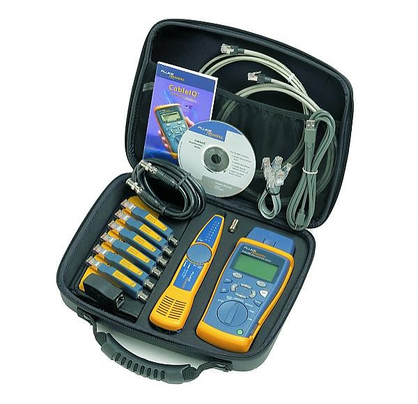 Tester okablowania Cable IQ Advanced Kit (Fluke Networks CIQ-KIT)