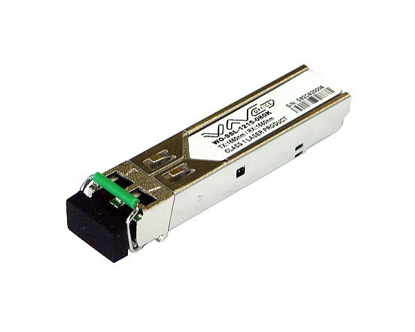Moduł SFP 1x 1000 Mbps LC SM, 120 km, TX: 1550 nm (Wave Optics, WO-SSL-1215-120K)