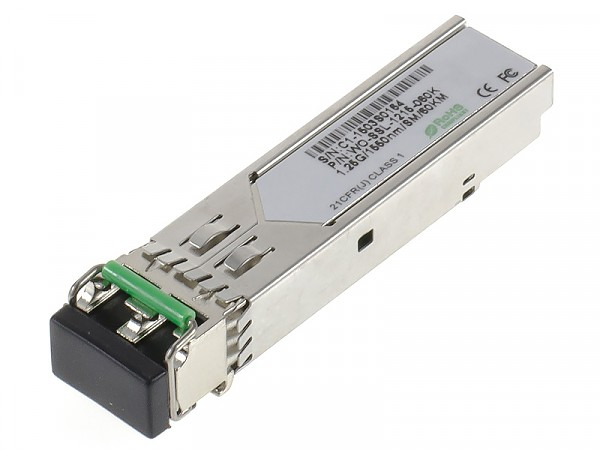 Moduł SFP 1x 1000 Mbps LC SM, 60 km, TX: 1550 nm (Wave Optics, WO-SSL-1215-060K)
