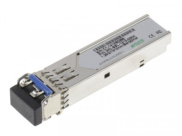 Moduł SFP 1x 1000 Mbps LC SM, 20 km, TX: 1310 nm (Wave Optics, WO-SSL-1213-020K)