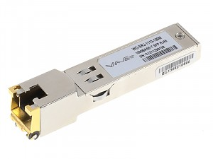 Moduł SFP 1x 1000 Mbps RJ-45 (Wave Optics, WO-SRJ-1110-100M)