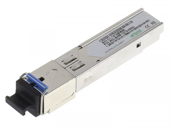 SFP WDM, 1Gb, SC SM, 20km, TX:1310nm