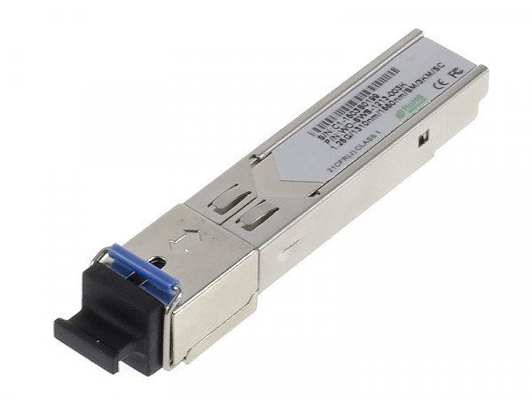 Moduł SFP 1x 1000 Mbps SC SM, 3 km, WDM TX:1310nm (Wave Optics, WO-SWS-1213-003K)