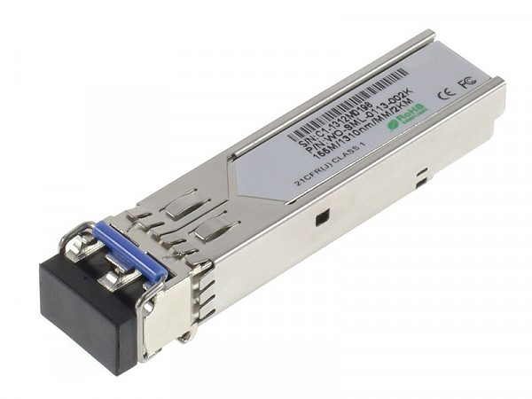 Moduł SFP 1x 100 Mbps LC MM, 2 km, TX: 1310 nm (Wave Optics, WO-SML-0113-002K)