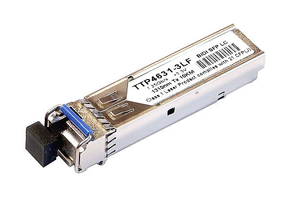 Moduł SFP 1x 1000 Mbps LC SM, 80km, WDM TX:1490nm (Wave Optics, WO-SWL-1214-080K)