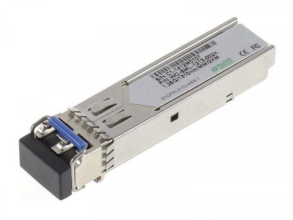 Moduł SFP 1x 1000 Mbps LC MM, 2 km, TX: 1310 nm (Wave Optics, WO-SML-1213-002K)