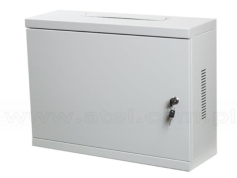 Szafa Rack Wisząca 19 3u 400x540x180mm Drzwi Metalowe